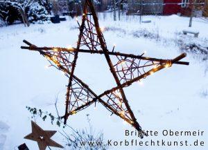 Stern mit Lichterkette