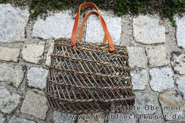 Handtasche in Burkinatechnik