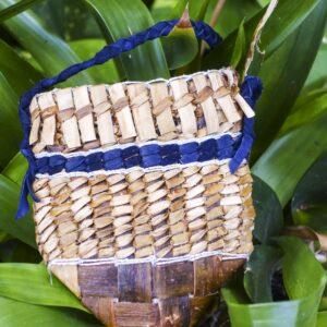 Amulett - Tasche aus Weidenrinde